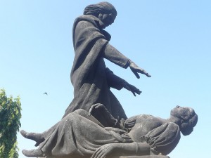 In Goa, There is a Statue of Abbe Faria Performing Hypnosis